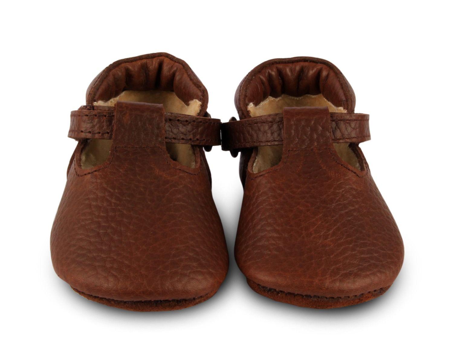 Elia Lining | Brown Grain Leather