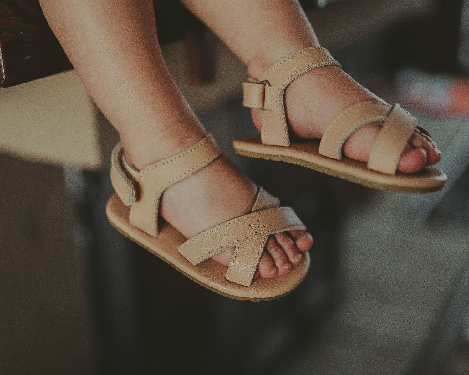 Giggles | Nude Leather