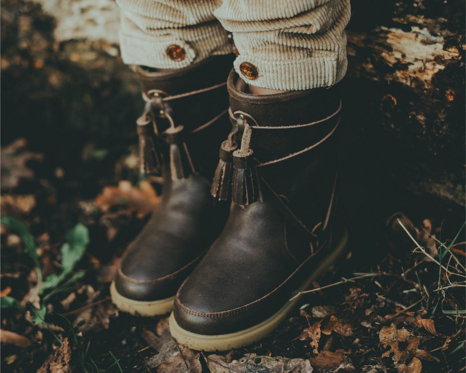 Bulu Lining | Dark Brown Leather