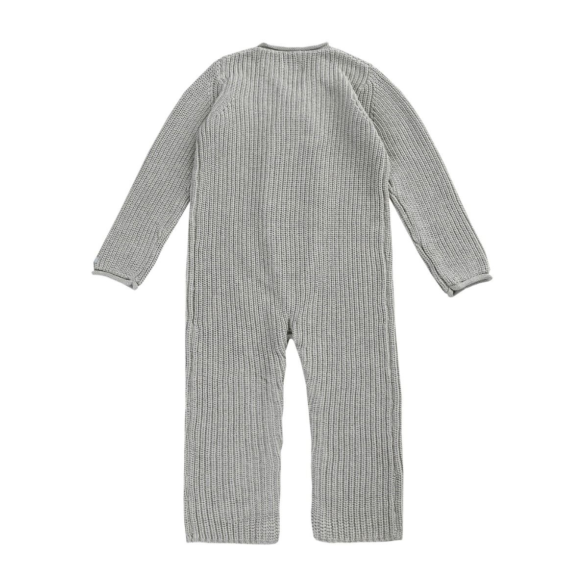 Stynen Jumpsuit | Soft Grey Melange