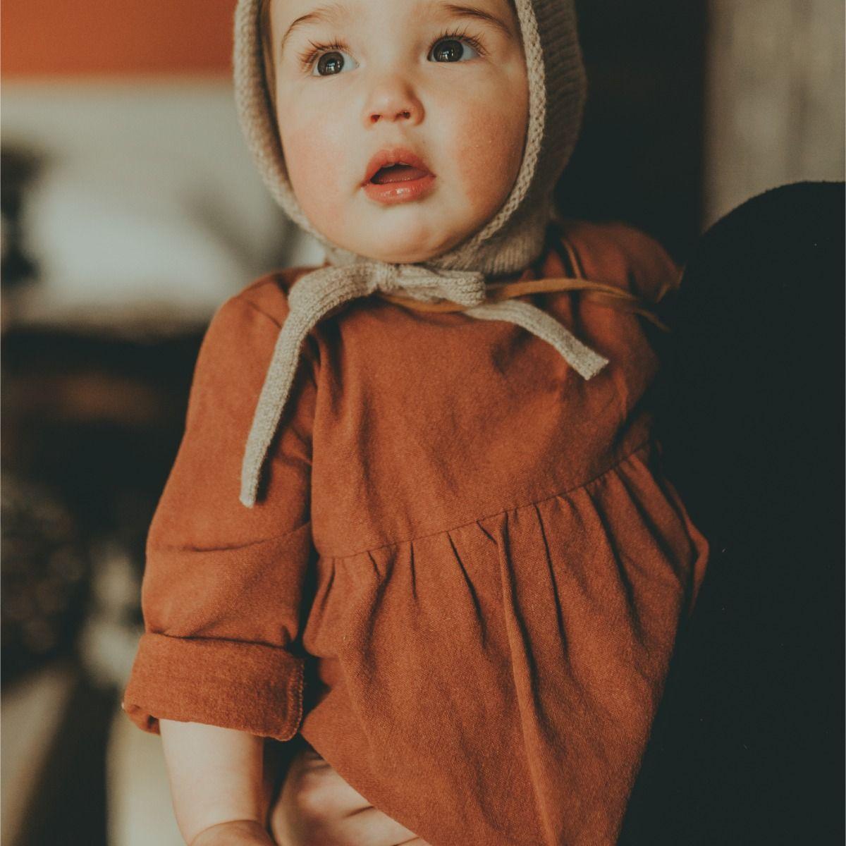 Maxime Dress | Rust