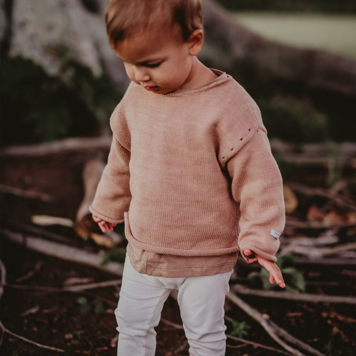 Nes Sweater | Pink Clay
