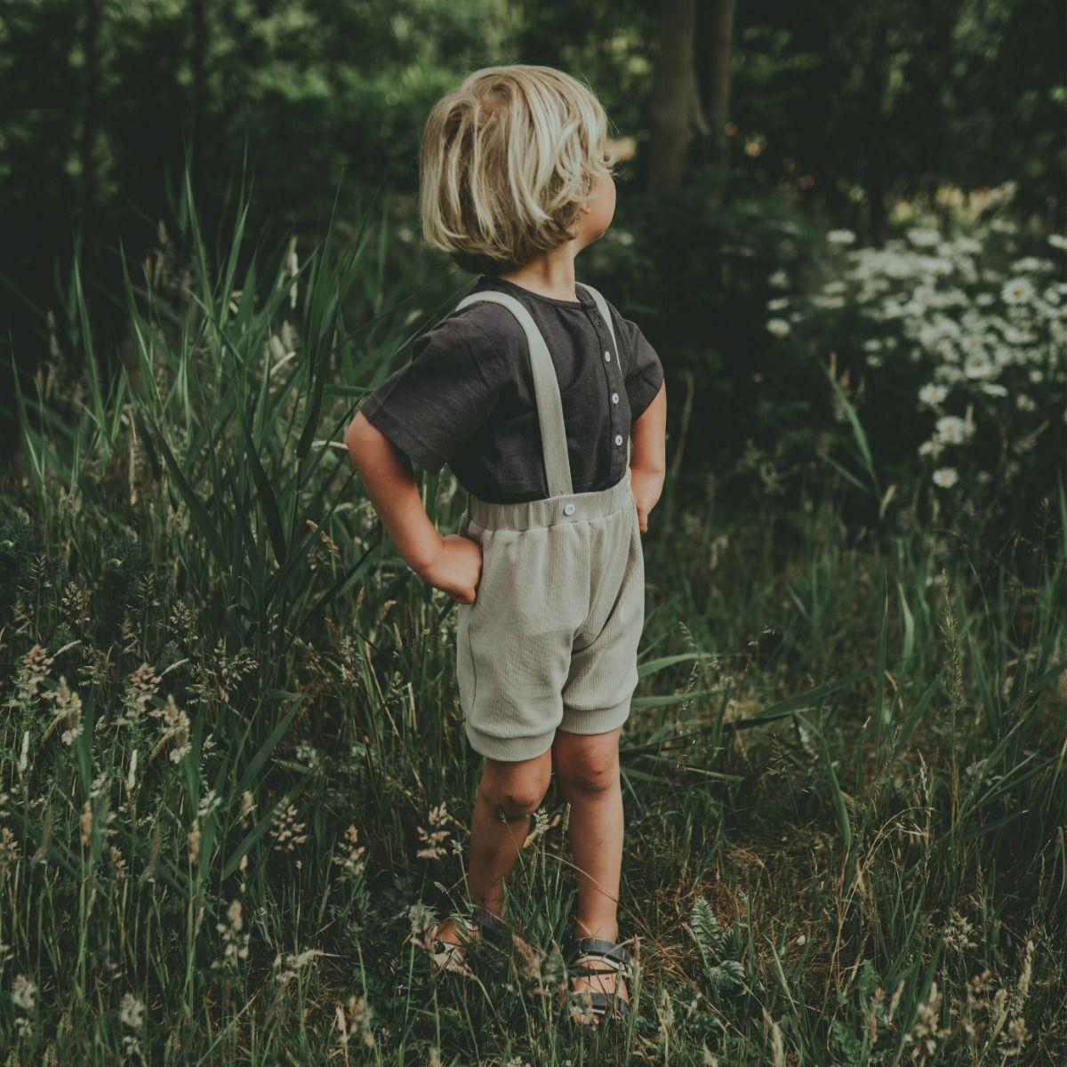 Abel Shorts | Mint Beige