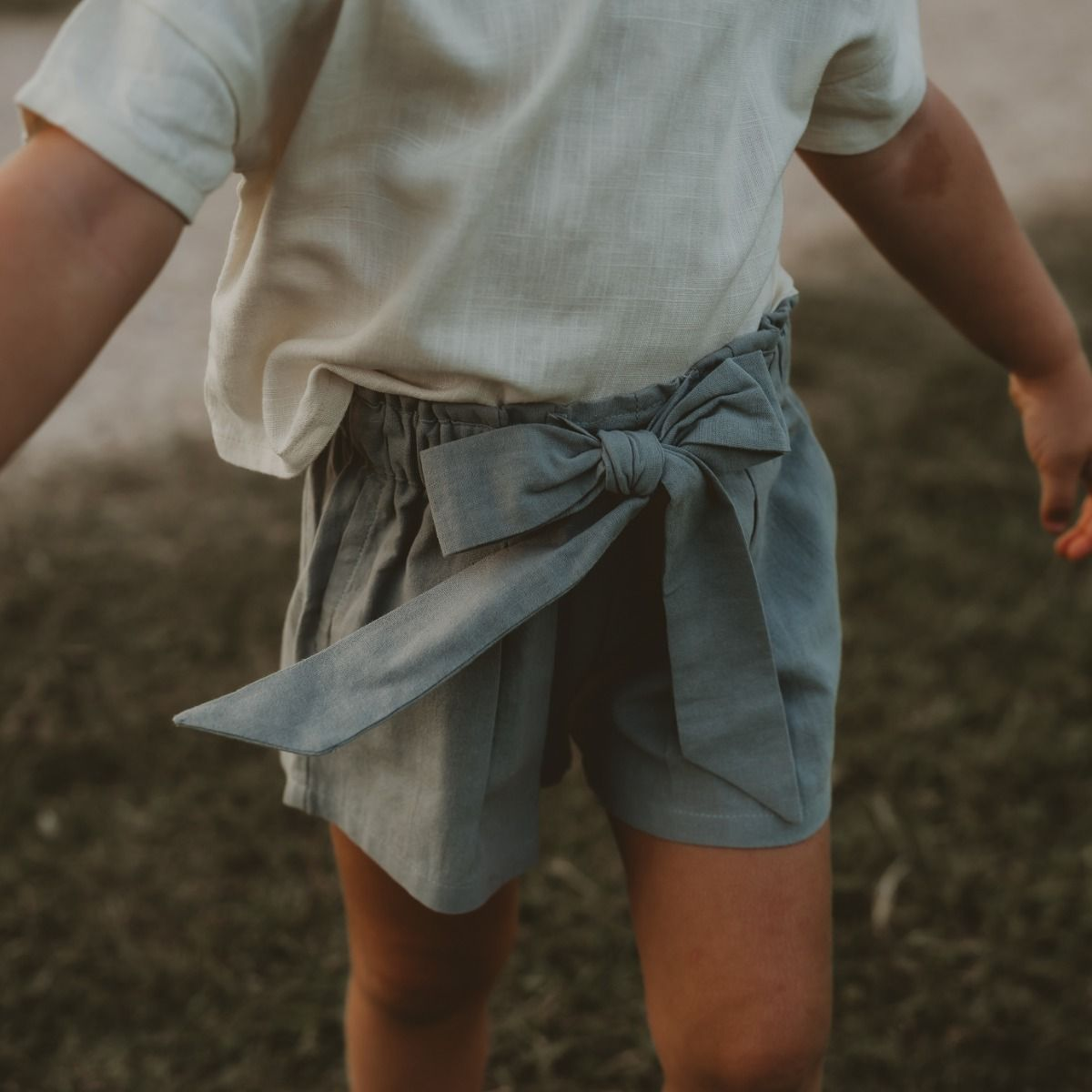 Willa Shorts | Frosted Grey