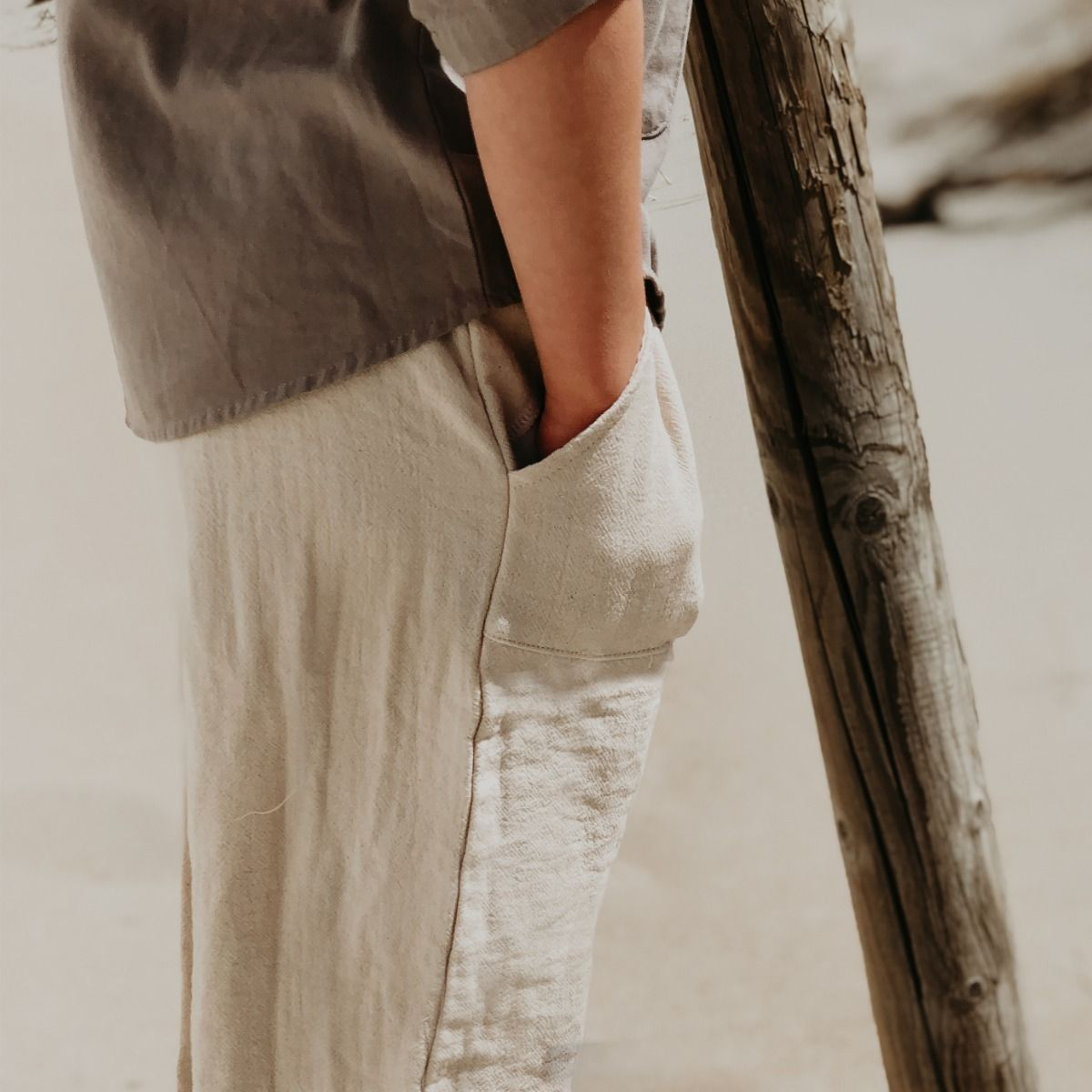 Ede Trousers | Coconut White