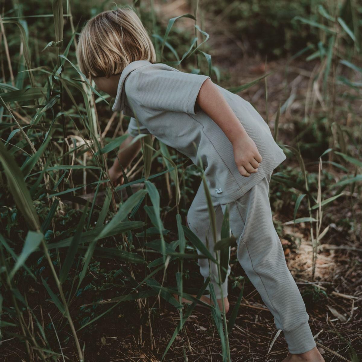 Silas Trousers | Mint Beige