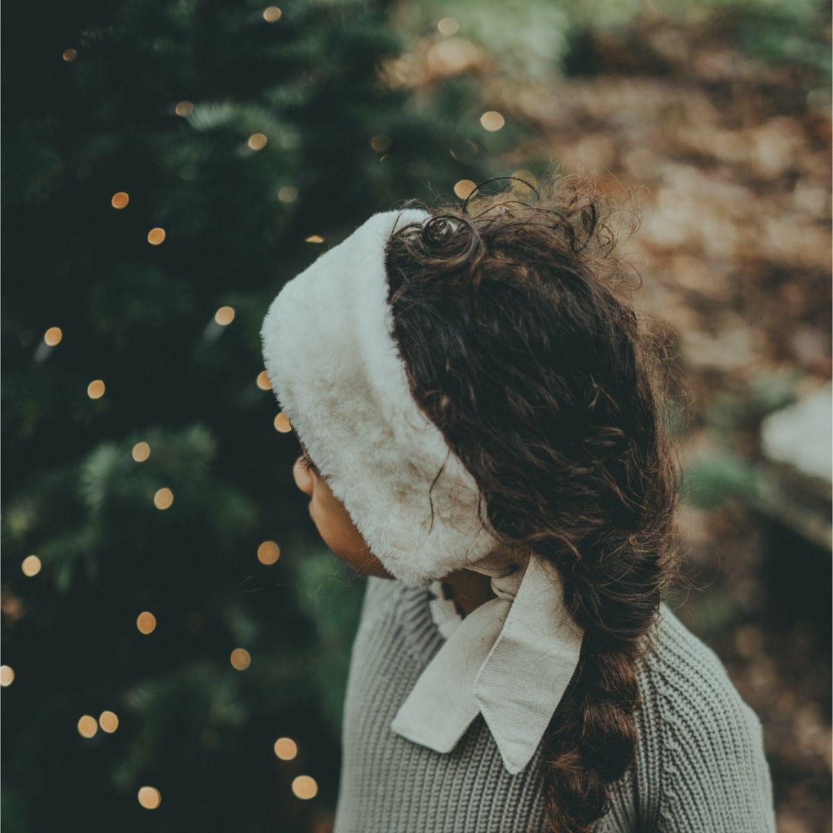 Ella Headband | Off White Teddy