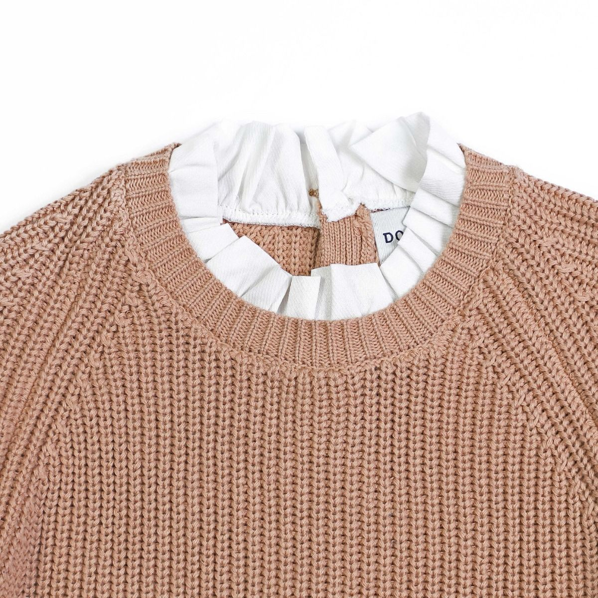 Flossy Sweater | Pink Clay