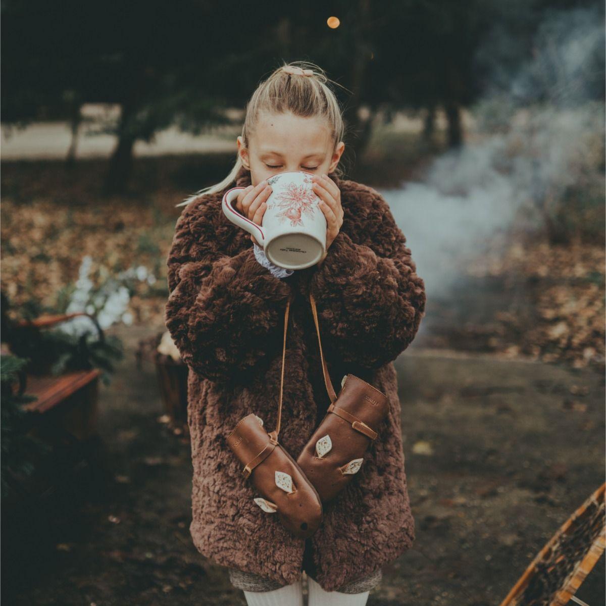 Mila Jacket | Brown Teddy