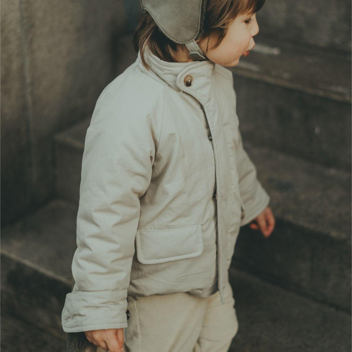 Sund Jacket | Pale Stone