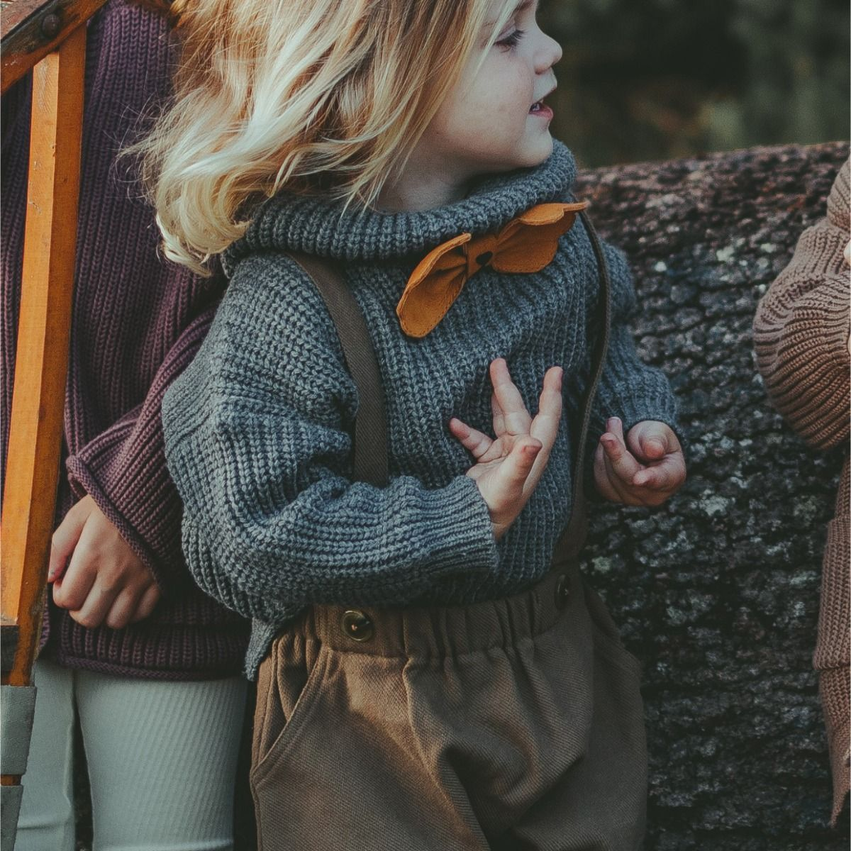 Yiri Sweater | Grey