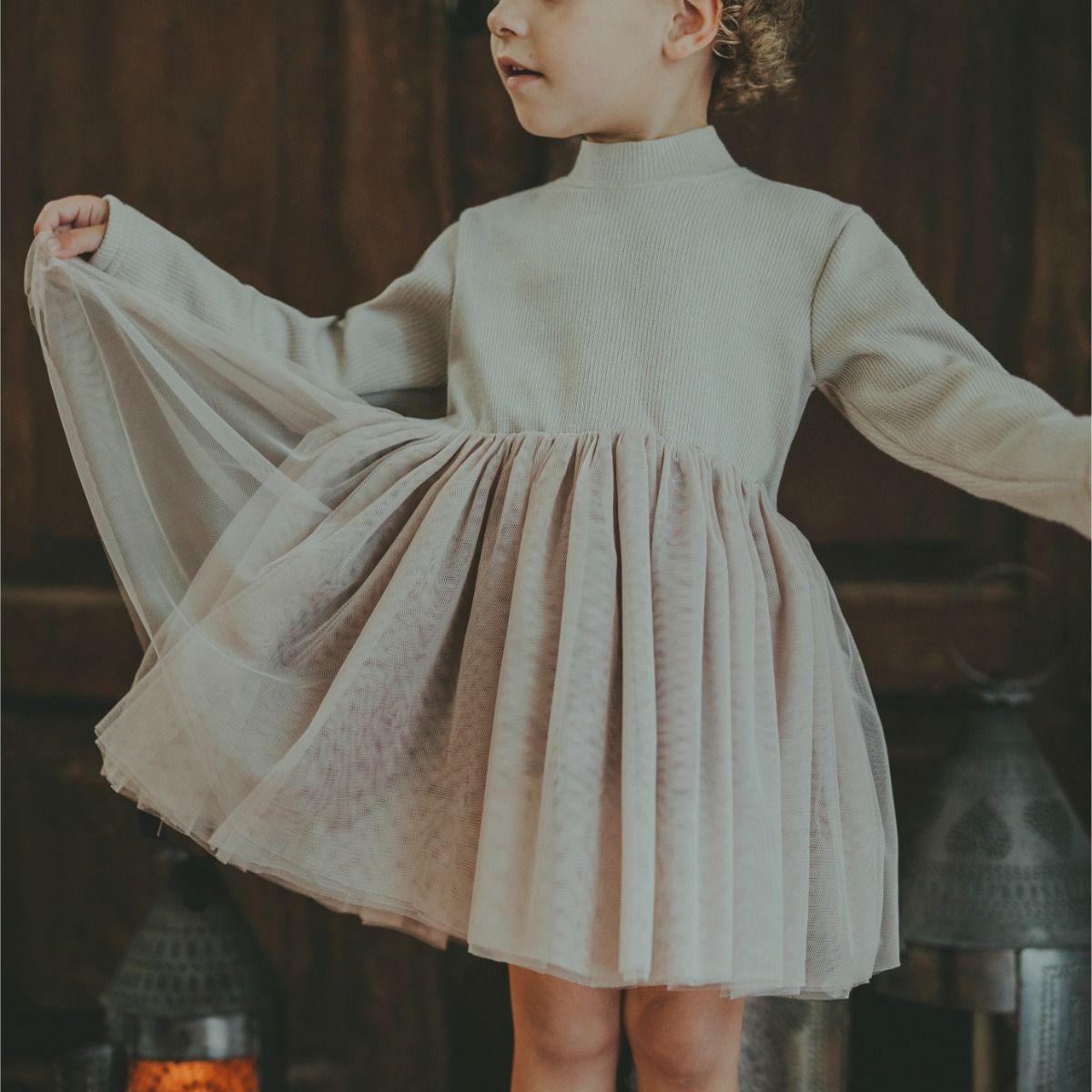 Lotus Dress | Warm White