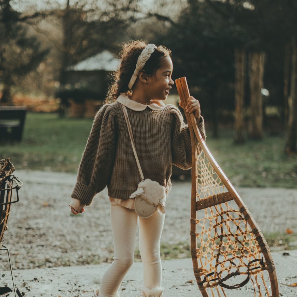 Megan Sweater | Forest Brown Melange