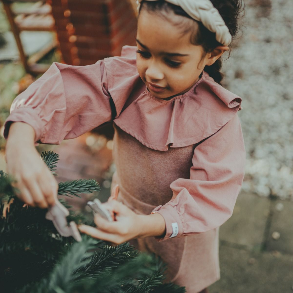 Nadine Blouse | Antique Pink
