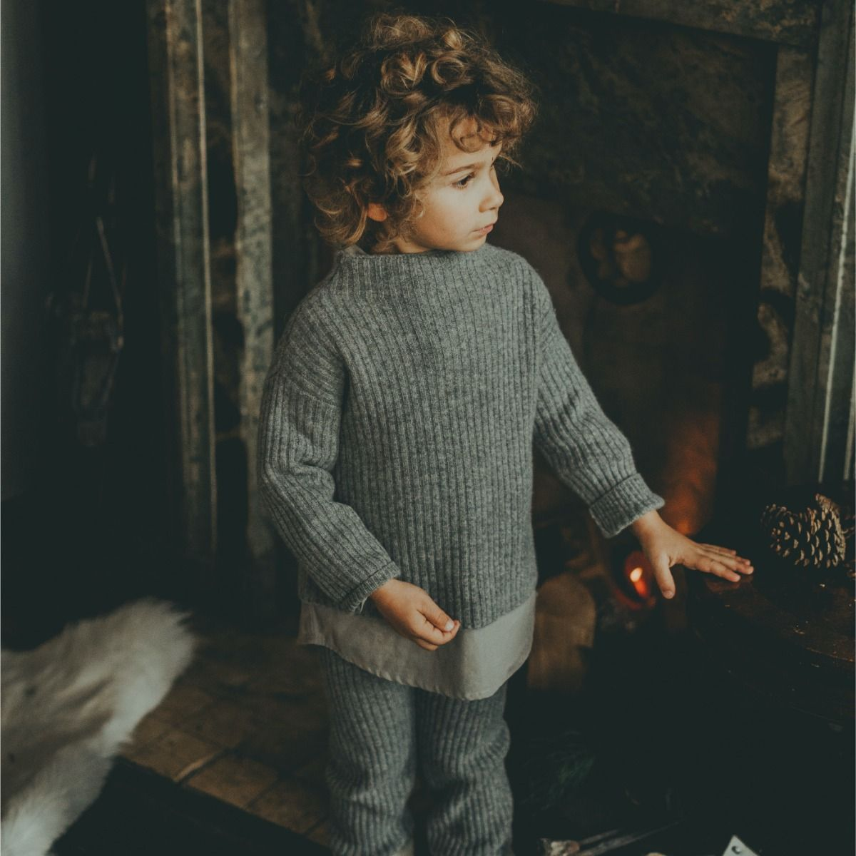 Dai Sweater | Grey Melange