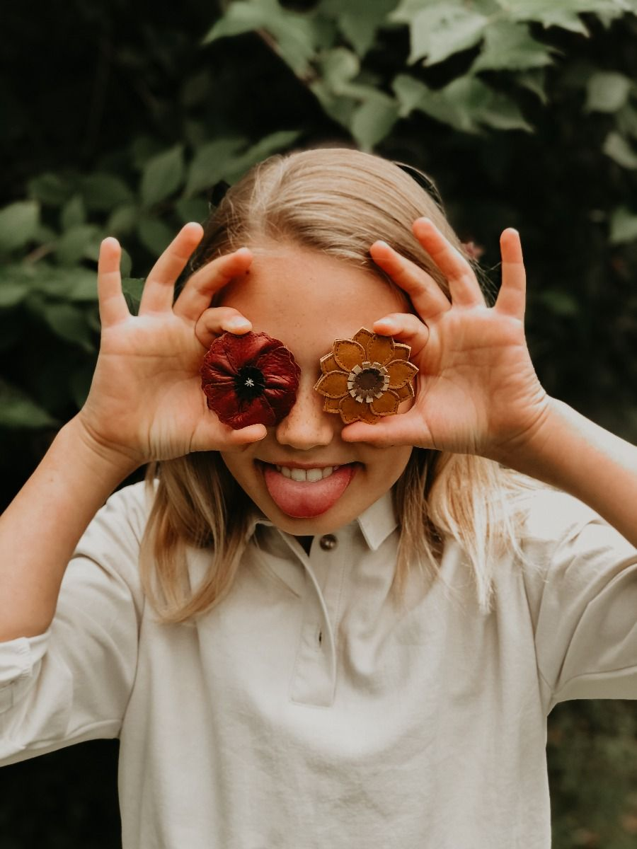 Zaza Fields Hairclip | Sunflower