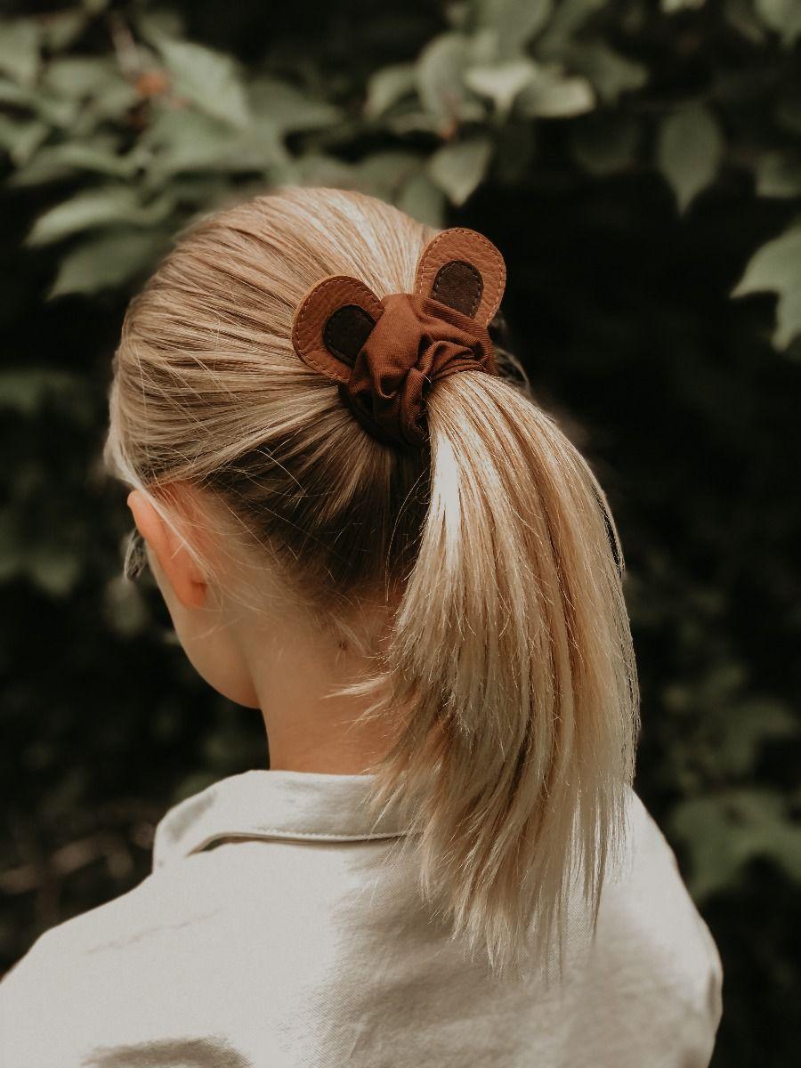 Polly Hair Scrunchie | Bear