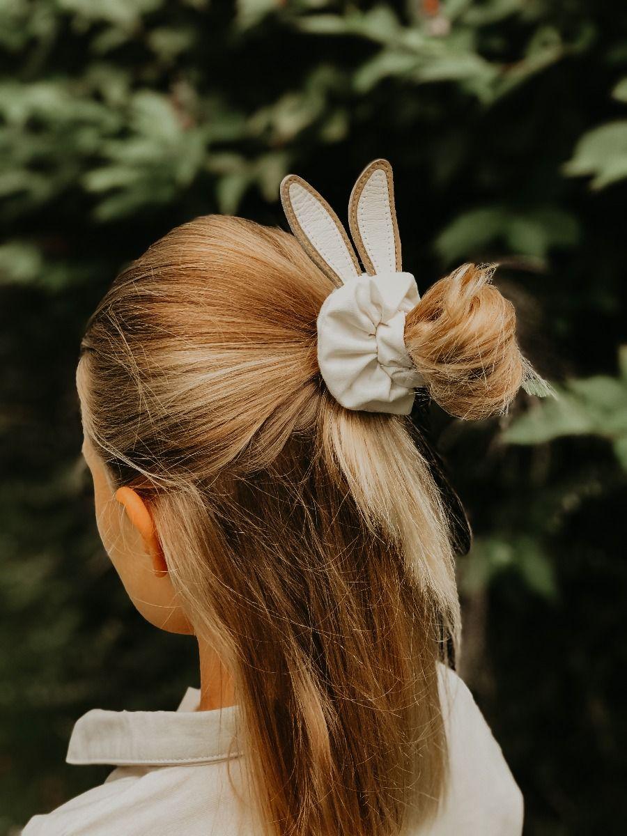 Polly Hair Scrunchie | Bunny