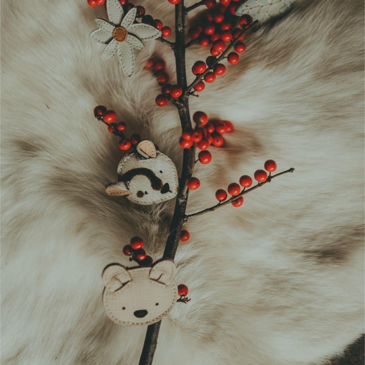 Josy Exclusive Hairclip | Snow Leopard