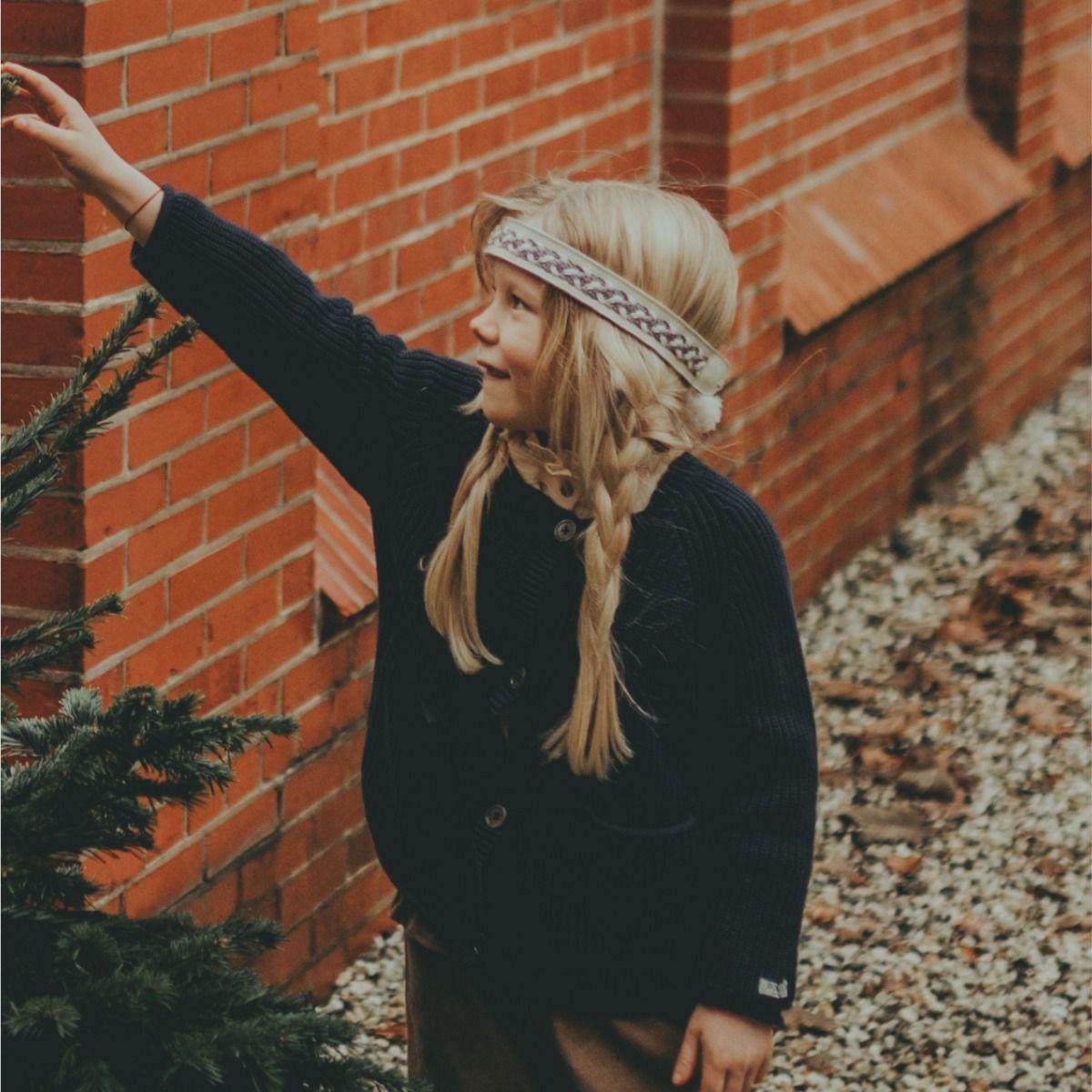 Nini Headband | Off White Leather