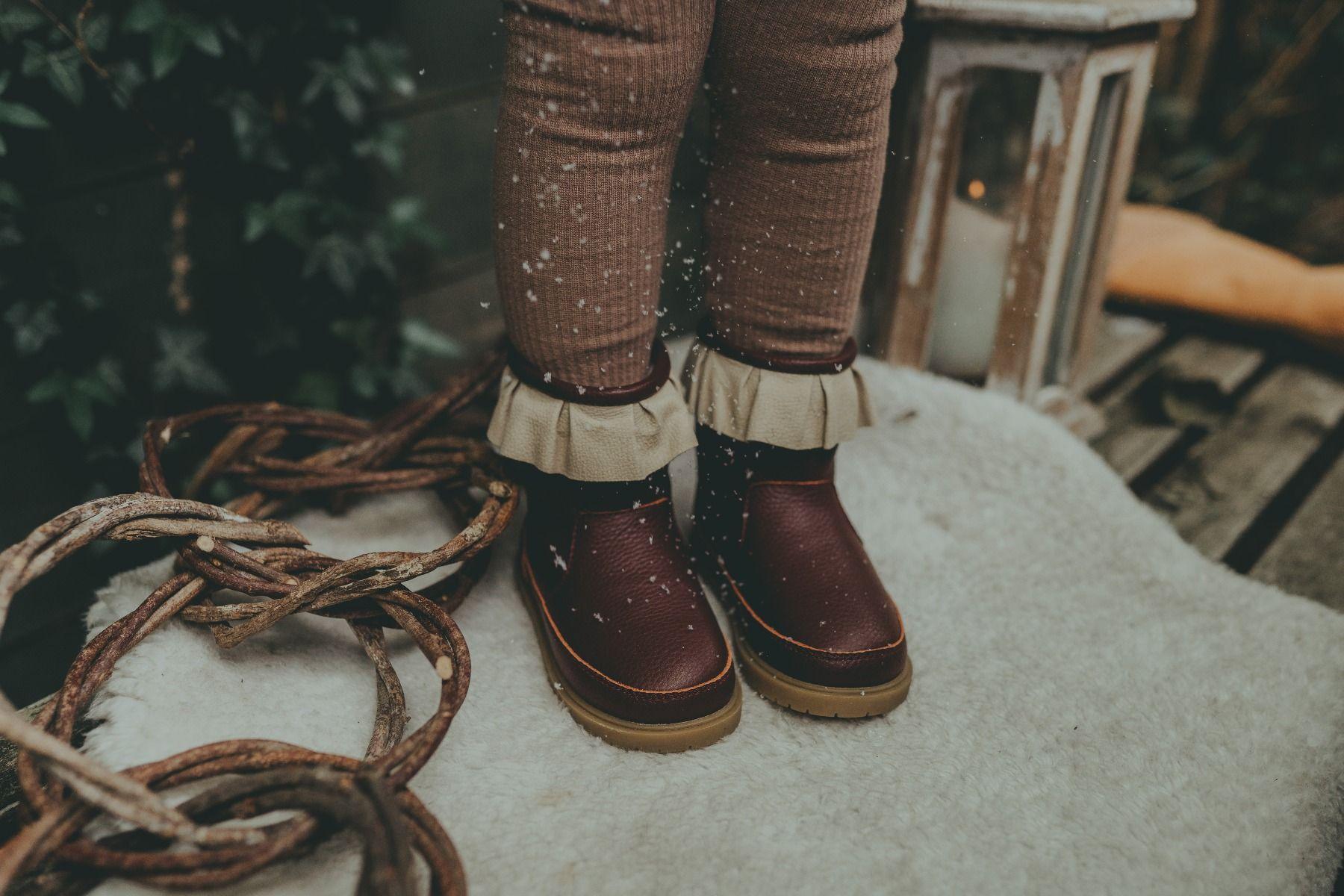 Chrissie Lining | Burgundy Leather