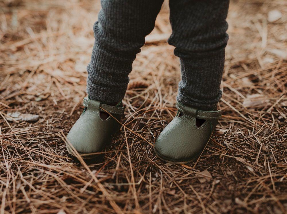 ELIA LINING | Olive Leather