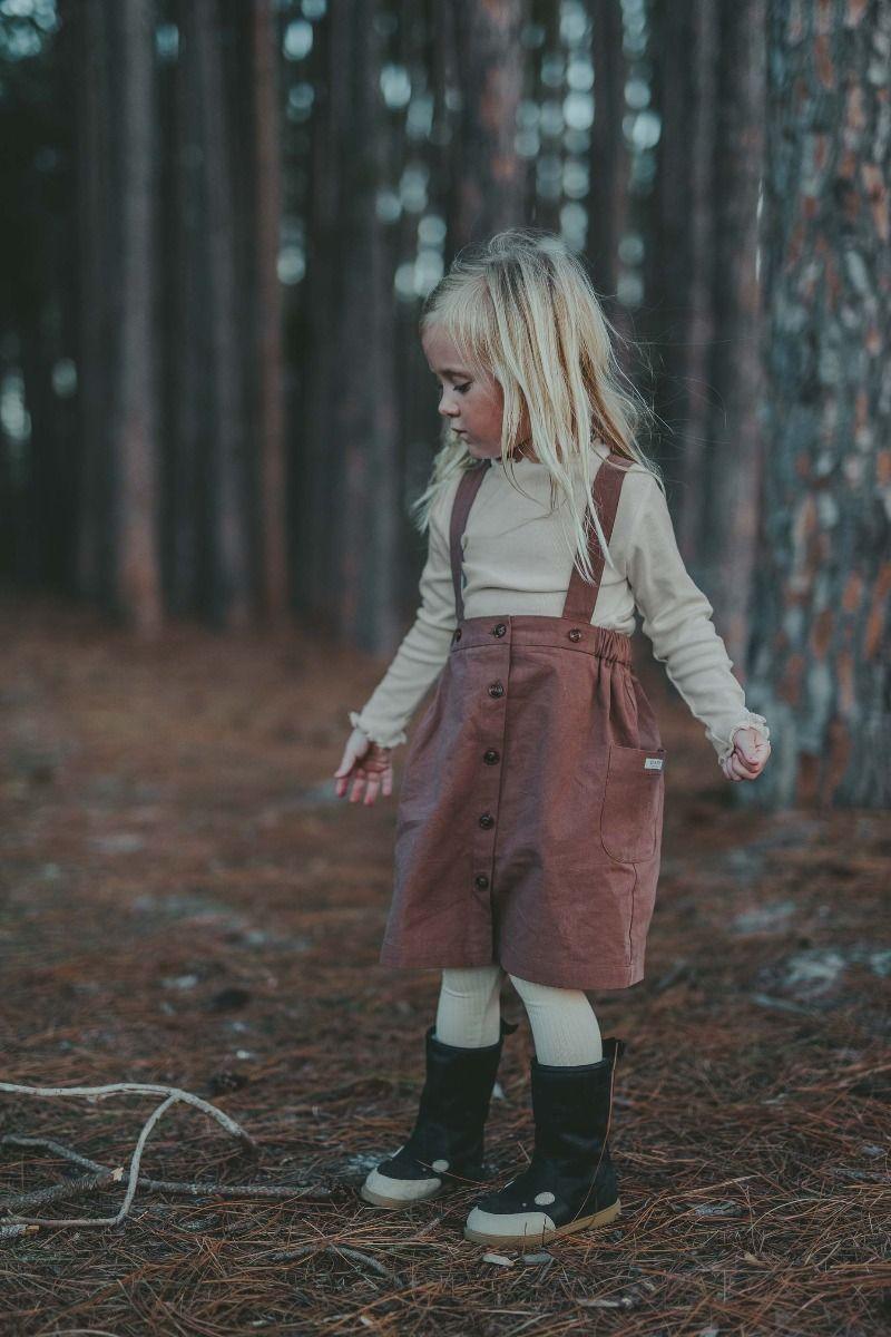 EVI SKIRT | Vintage Brown