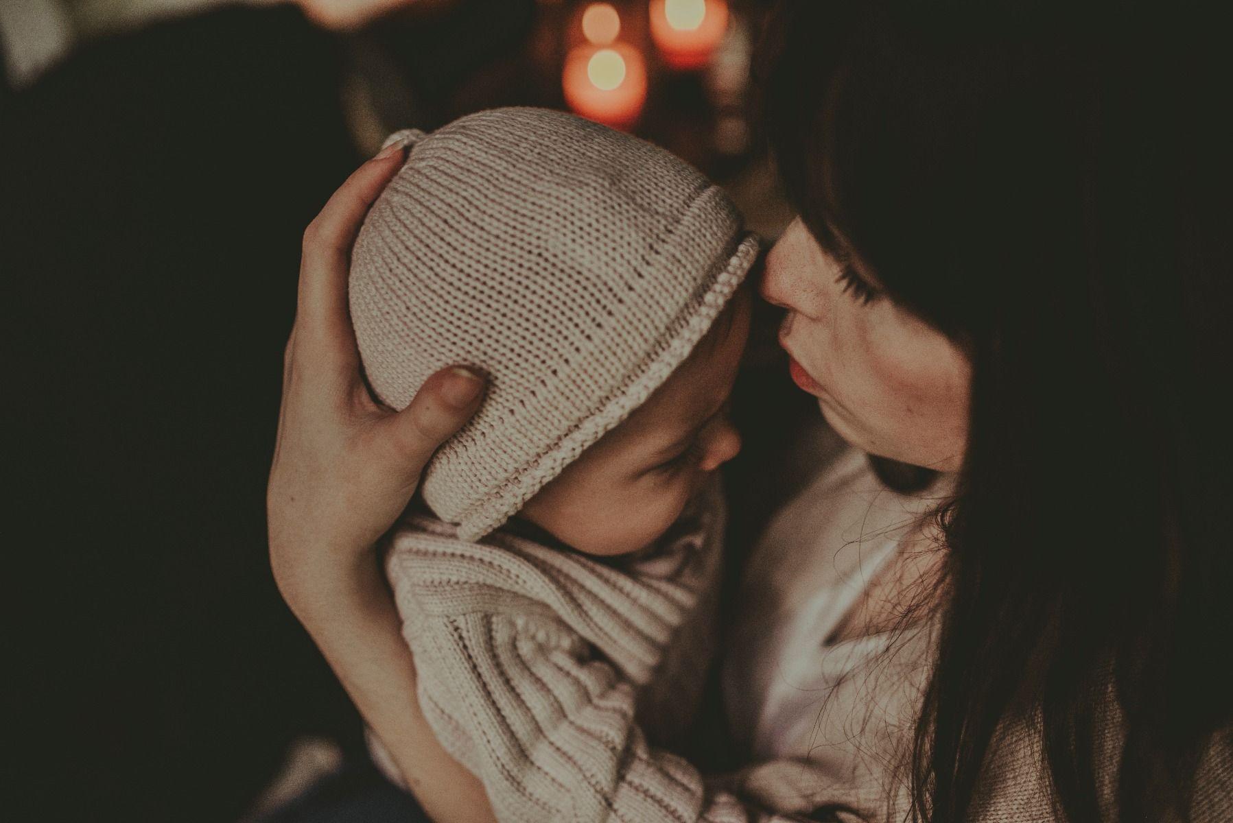 FENJA BABY HAT | Beige Melange
