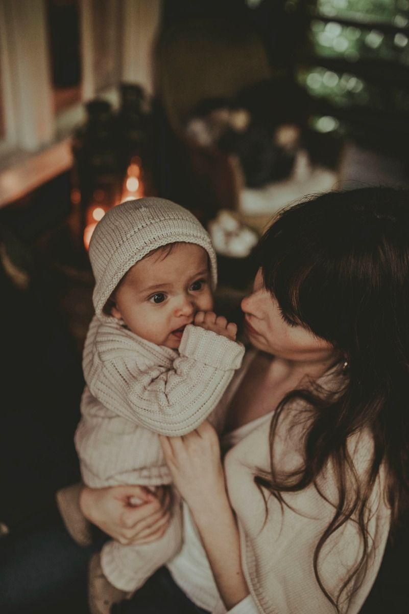 FENJA BABY HAT | Soft Blush