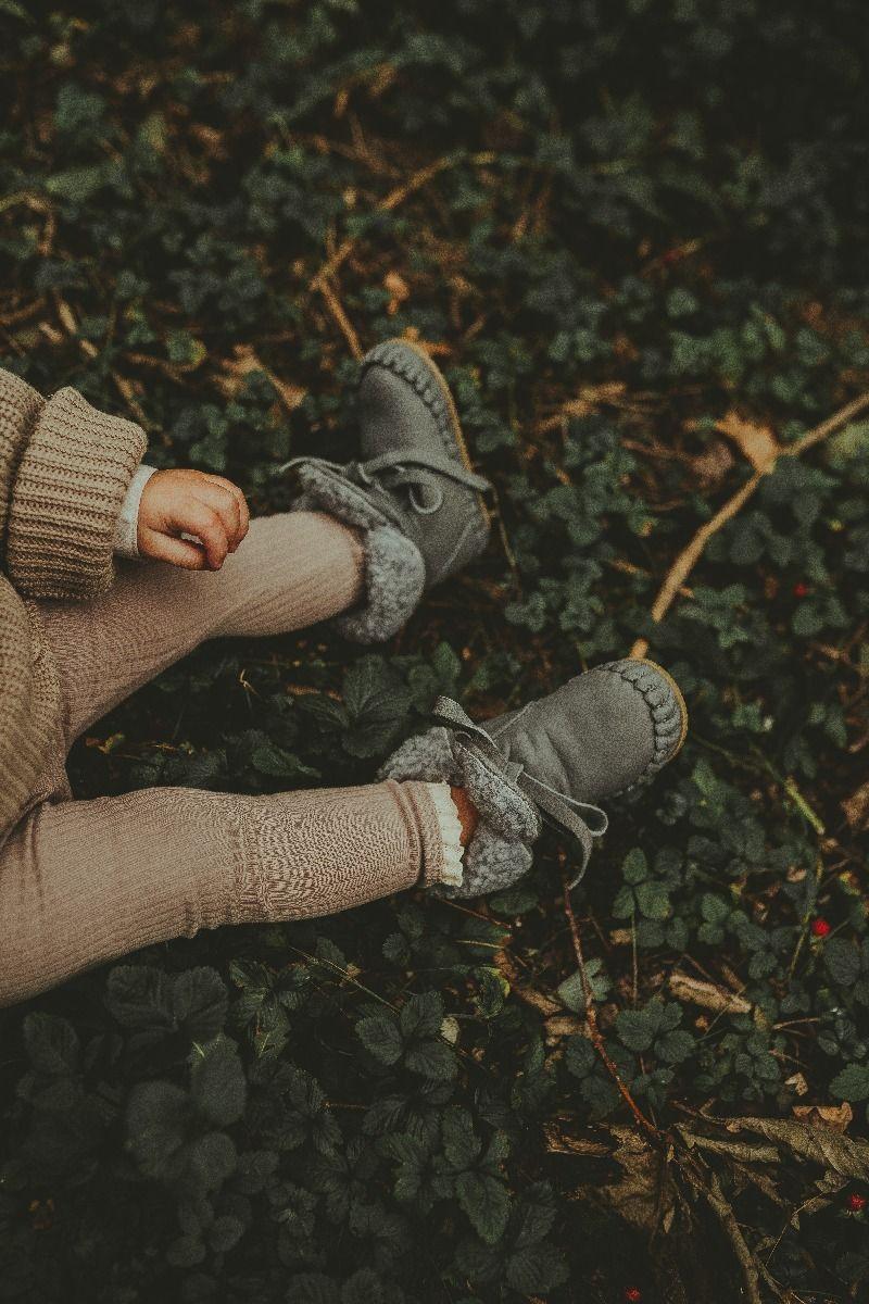 JAYA LINING | Light Grey Nubuck