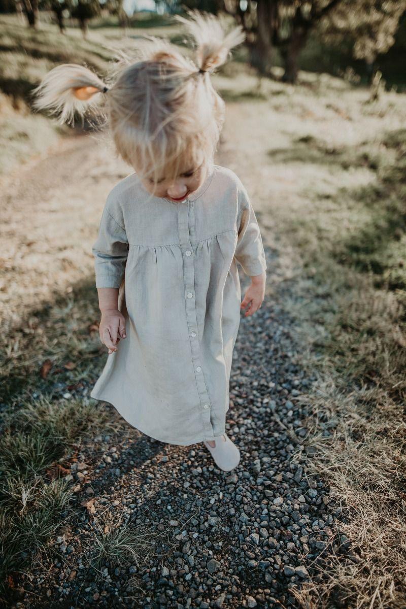 JENNA DRESS | Mint Linen Blend