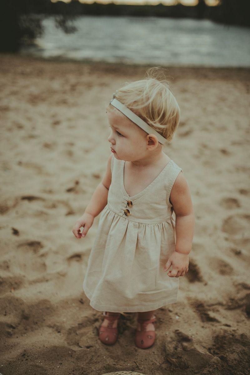 LISA DRESS | Ecru