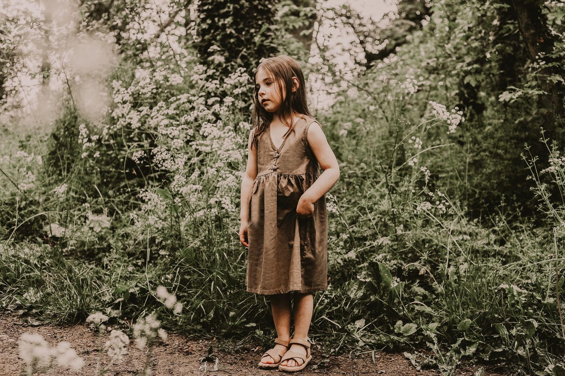 LISA DRESS   Olive Grey