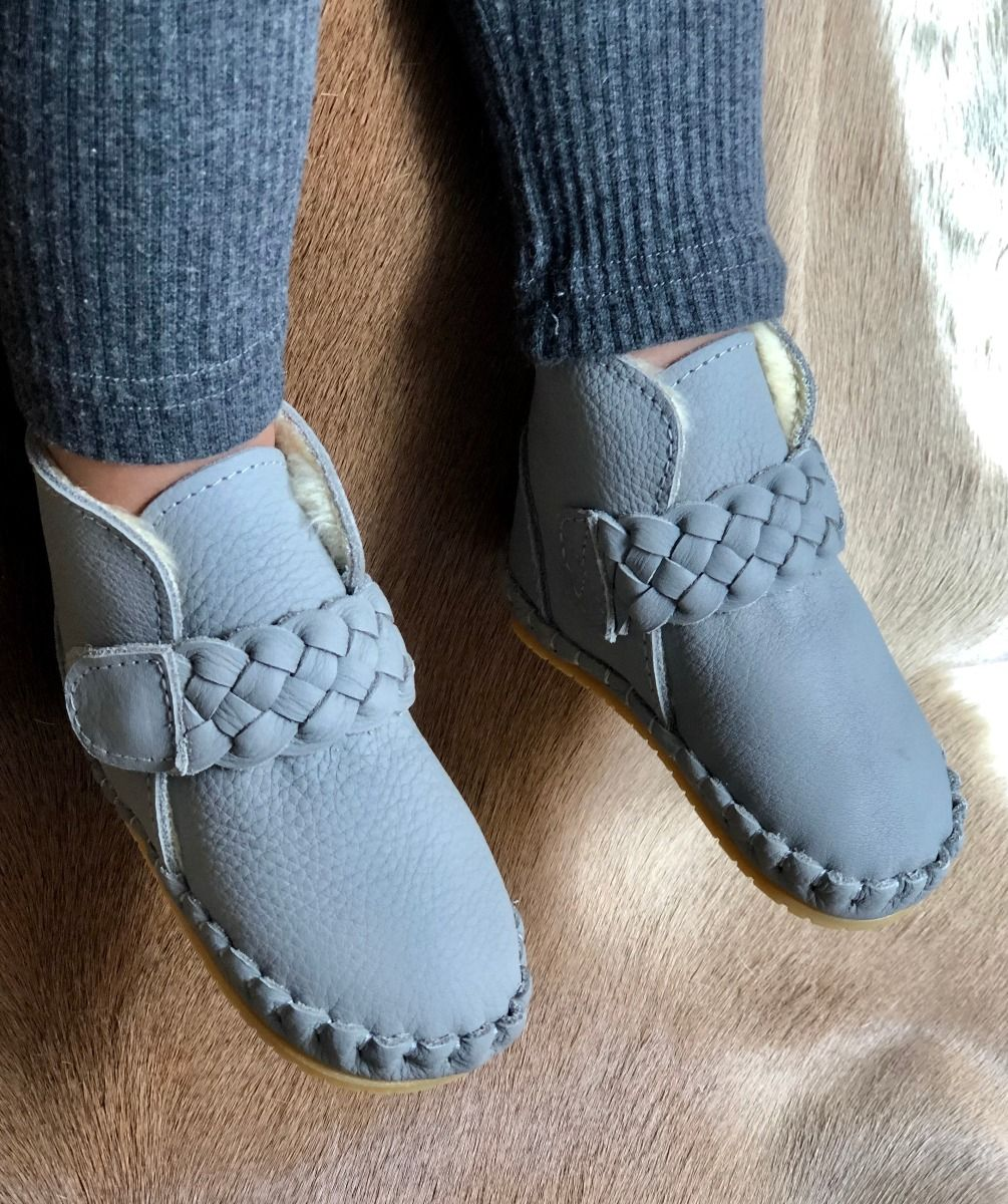 Mace Lining | Elephant Grey Leather