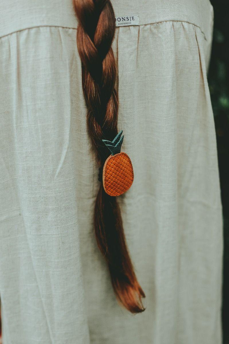 Nanoe Fruit Hair Tie | Pineapple