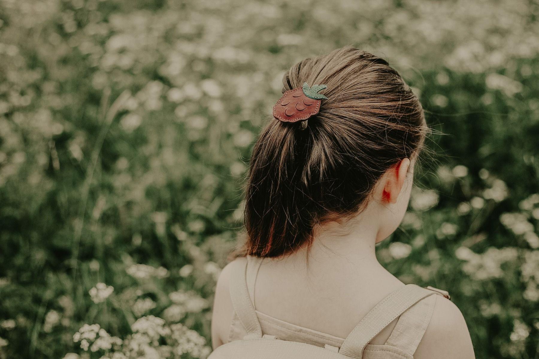 NANOE FRUIT HAIR TIE | Raspberry