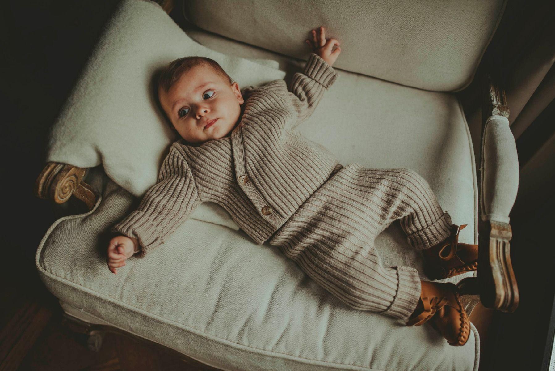Olle Trousers | Beige Melange