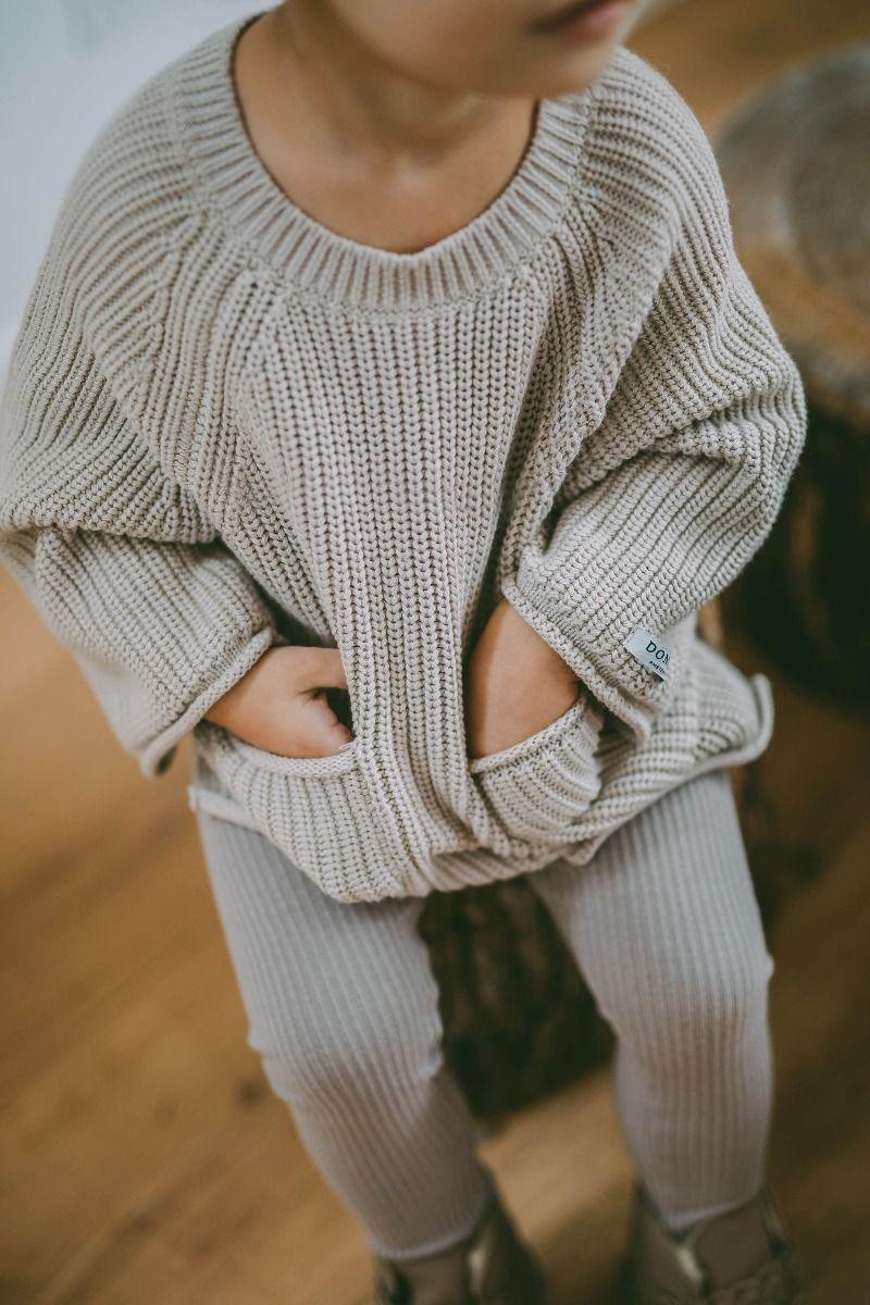 STELLA SWEATER | Soft Sand Cotton