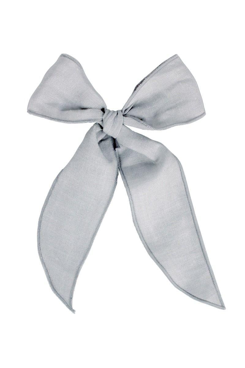 LACES   Grey Linen