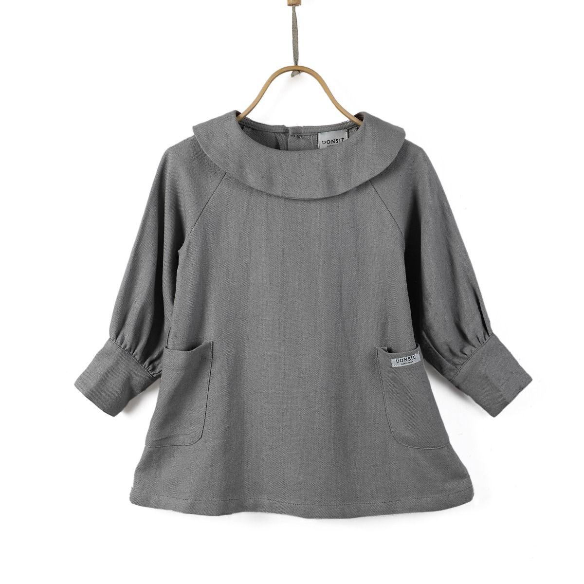 COCO DRESS   Cool Grey