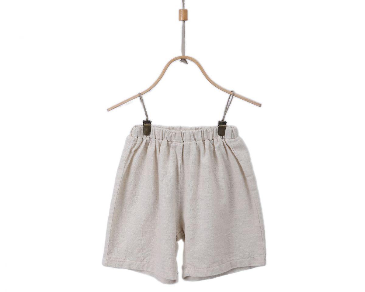 EVAN SHORTS | White Sand Cotton