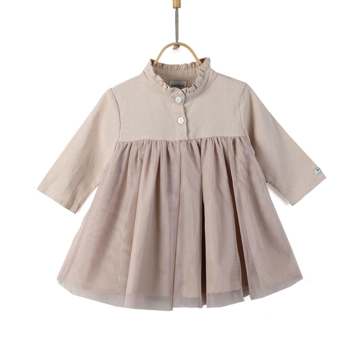 FIEKE DRESS   Rose Powder