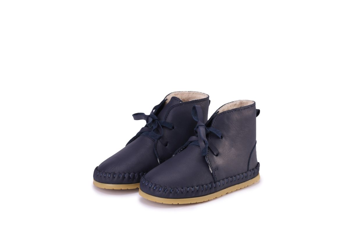 OLLIE LINING | Navy Leather