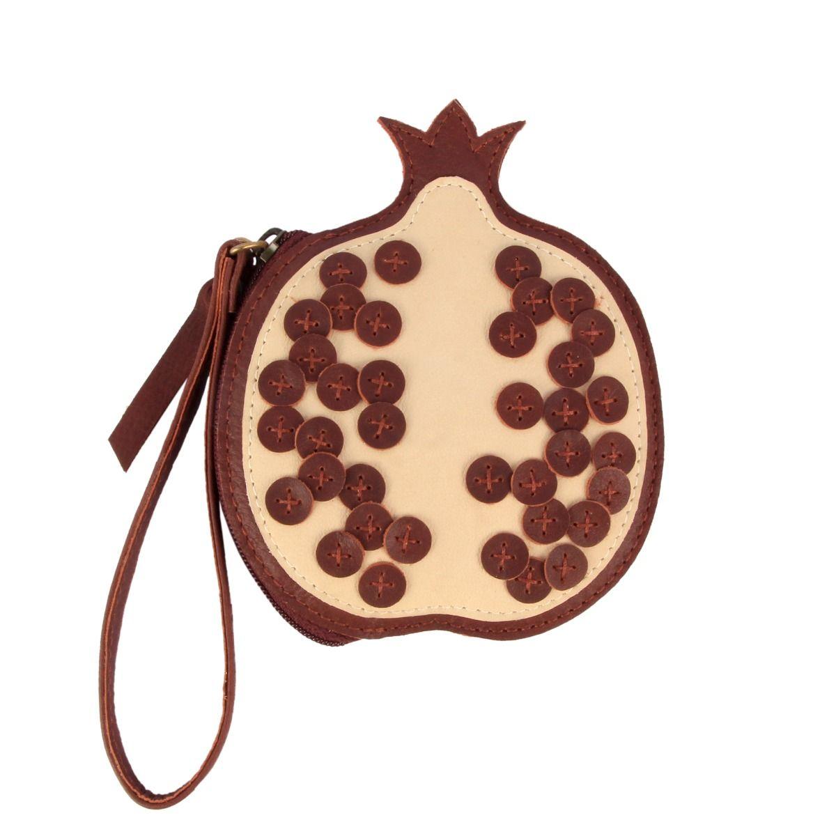 NANOE FRUIT COIN POUCH | Pomegranate