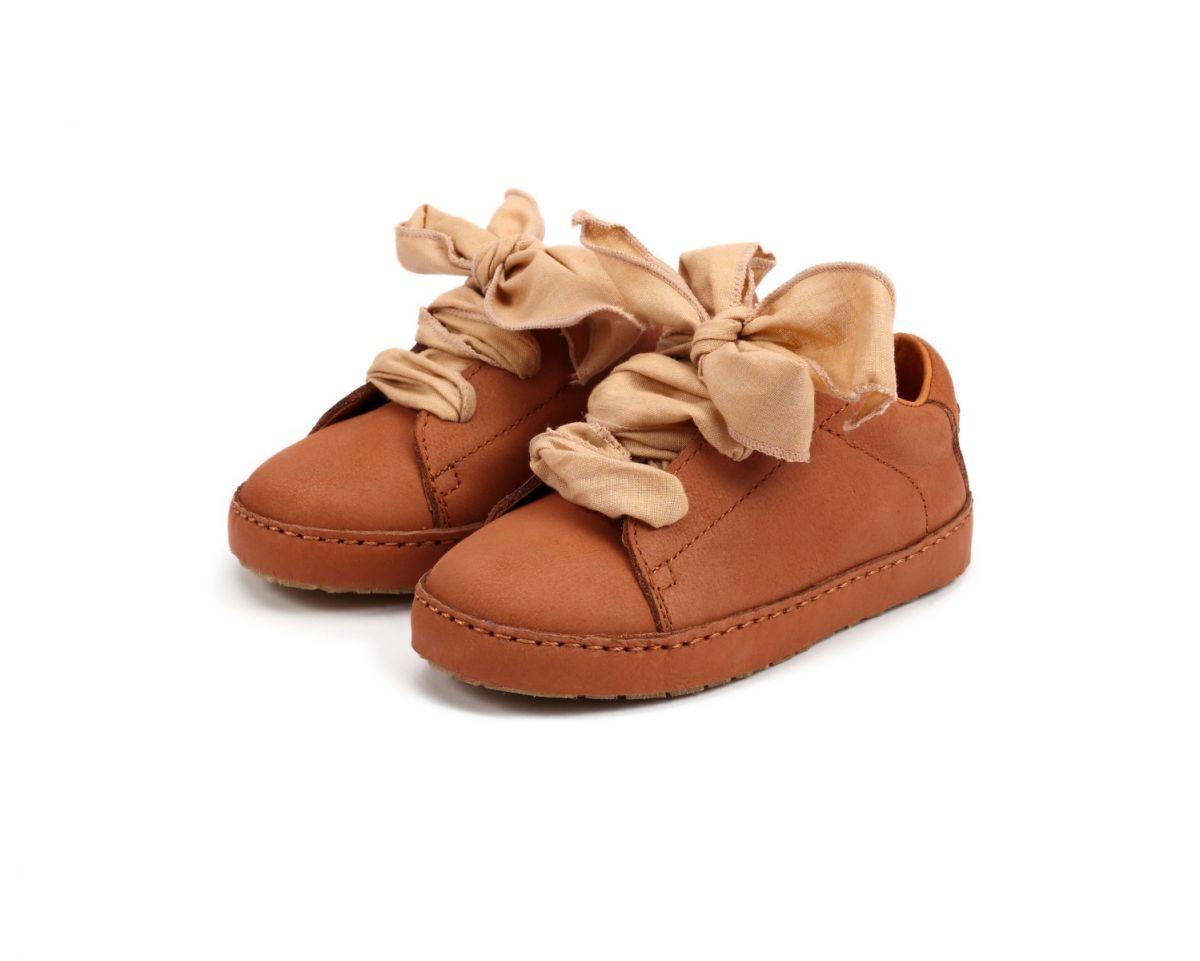 ROSE | Walnut Leather + Cedar Cotton